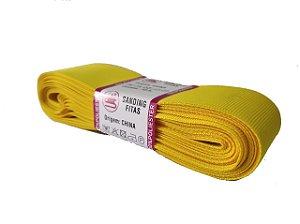 Fita de Gorgurão Sanding n°9(38mm) 10metros - Cor 115 Amarelo Ouro