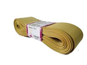 Fita de Gorgurão Sanding n°9(38mm) 10metros - Cor 189 Ouro