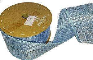 Fita de Juta Metalizado Azul 12