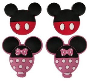 Aplique Emborrachado Mickey&Minnie