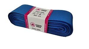 Fita de Gorgurão Sanding n°9(38mm) 10metros - Cor 273 Azul Elétrico