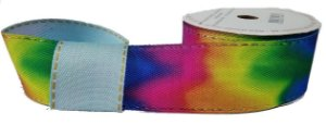 Fita Decorativa Jeans Tie Dye SINIMBU REF1823 C-03