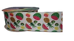 Fita de Gorgurão Frutas Tropicais 33