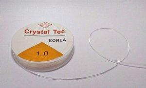 Fio de Silicone Transparente 1 mm