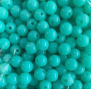 Contas de Plástico Lisa - 50g