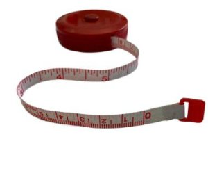 Fita Métrica Retrátil Redonda Cores Sortidas - 1,5mt