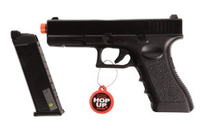 Pistola de Airsoft GBB - Glock 766 - Blowback ACOMPANHA CASE EXCLUSIVO!