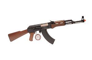 Rifle de Airsoft AEG - AK-47 (CM RK47) Imitation Wood G&G