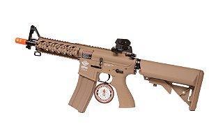 Rifle de Airsoft AEG - M4 Rider TAN (CM16) G&G