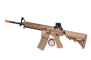 Rifle de Airsoft AEG - M4 Rider-L TAN (CM16) G&G