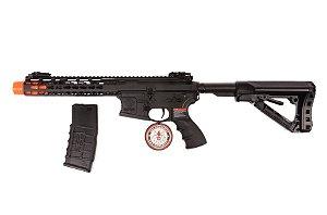 """Rifle de Airsoft AEG - Wild Hog 9"""" (CM16) G&G"""