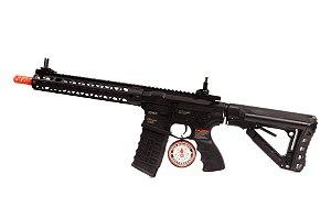 """Rifle de Airsoft AEG - M4 Warthog 12"""" (GC16) G&G"""