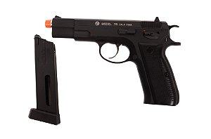 Pistola de Esfera de Aço CO₂ - CZ 75 - Blowback - 4.5mm