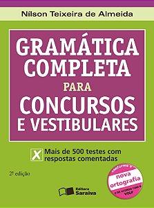 GRAMÁTICA COMPLETA PARA CONCURSO E VESTIBULARES
