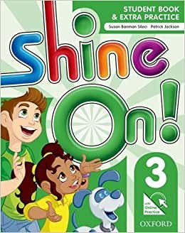 SHINE ON 3 STUDENT BOOK WITH ONLINE