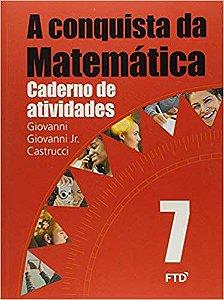 CONQUISTA DA MATEMATICA 7º ANO ATIVIDADE