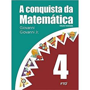 CONQUISTA  DA MATEMATICA 4º ANO TEXTO