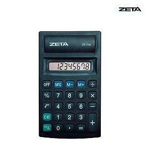 Calculadora Zeta - ZT715 - preta