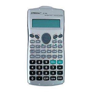 Calculadora Científica - SC 365 - 279 funções - visor duplo - capa de proteção - Procalc