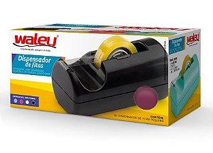 Dispensador de fitas pequeno - 5,5 x 5,7 x 12,3cm - Waleu