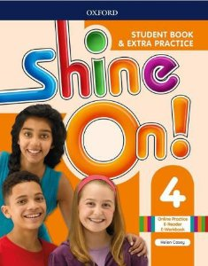 SHINE ON 4 STUDENTE BOOK WITH ONLINE