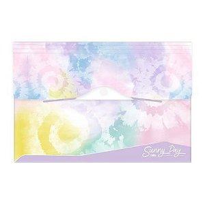 Pasta sanfonada A4 - 12 divisões - Tie Dye Sunny Day - Dello