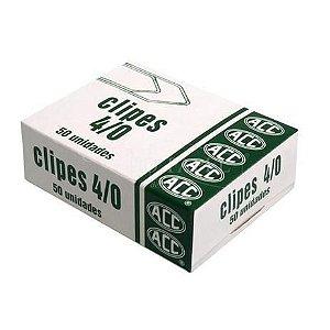 Clipes 4/0 niquelados - 50 unidades - ACC