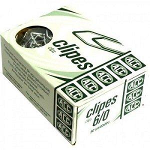 Clipes 6/0 - niquelados - 50 unidades - ACC