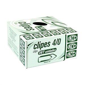 Clipes 4/0 - niquelados - 367 unidades - ACC
