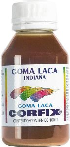 Goma laca indiana - 100 ml - Corfix