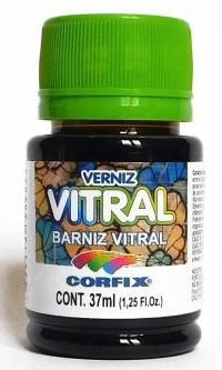Verniz Vitral - 37 ml - rosa pink - Corfix