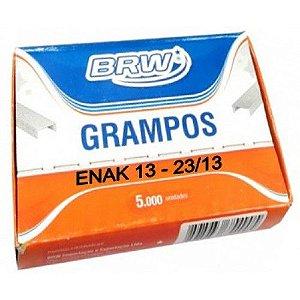 Grampo p/ grampeador - 23/13 - Enak 13 - 5000 unidades - BRW