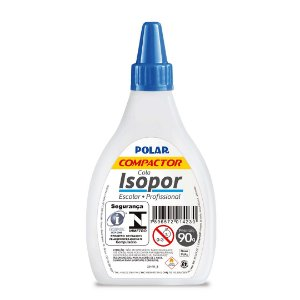 Cola Isopor - 90g - escolar e profissional - Compactor