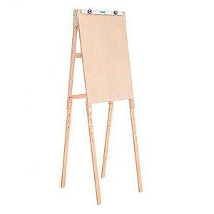 Cavalete para Flip Chart - modelo 8186 - Cline Pinus Mar  - Stalo