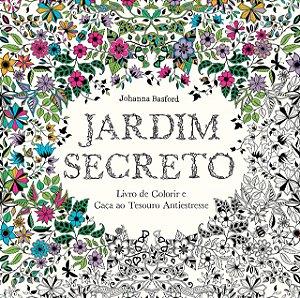 Livro de colorir - Jardim Secreto - Johanna Basford - Editora Sextante
