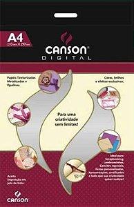 Papel Prata Pérola - 120g/m2 - A4 - pacote com 30 folhas - Canson Digital