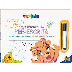 Escreva e Apague - Coordenação Motora Pré-Escrita - Escolinha Todolivro - Editora Todolivro