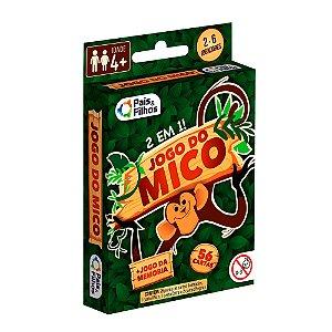 Jogo do mico - jogo da memória - 2 em 1 - jogo de cartas - Pais&Filhos