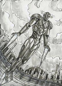 Homem de Ferro, Marvel | Fan Art