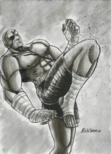 Sagat, Street Fighter | Fan Art