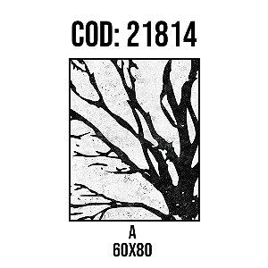 Quadro Decorativo Impressão no Vidro 21814A