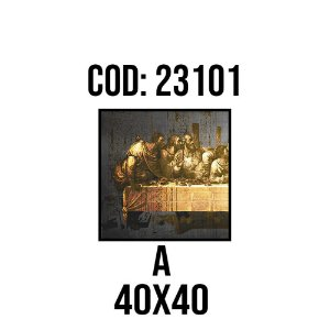 Quadro Decorativo Impressão no Vidro 23101A