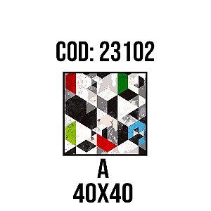 Quadro Decorativo Impressão no Vidro 23102A