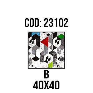 Quadro Decorativo Impressão no Vidro 23102B