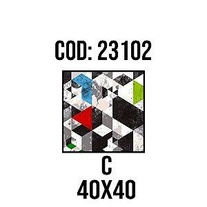 Quadro Decorativo Impressão no Vidro 23102C
