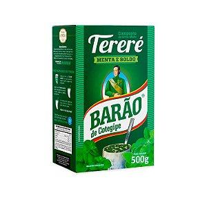 Erva Mate Tereré Menta e Boldo 500g - Barão Cotegipe