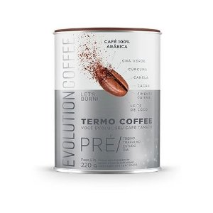 Café Termogenico/Pré treino/Trabalho/Estudos/220g - Evolution Coffee