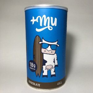 +Mu Whey Protein Sabor Chocolate 450g