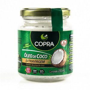 ÓLEO DE COCO EXTRA VIRGEM - COPRA - 200ml
