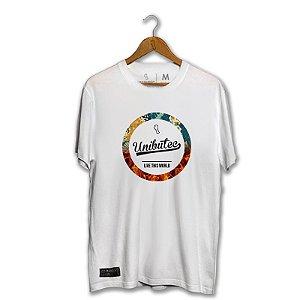 Camiseta Hops Unibutec Live This World Floral